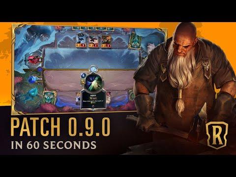 Patch 0.9.0 In 60 Seconds | Patch Trailer | Legends Of Runeterra