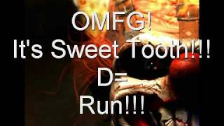 Twisted Metal Black - Sweet Tooth Ice Cream truck!
