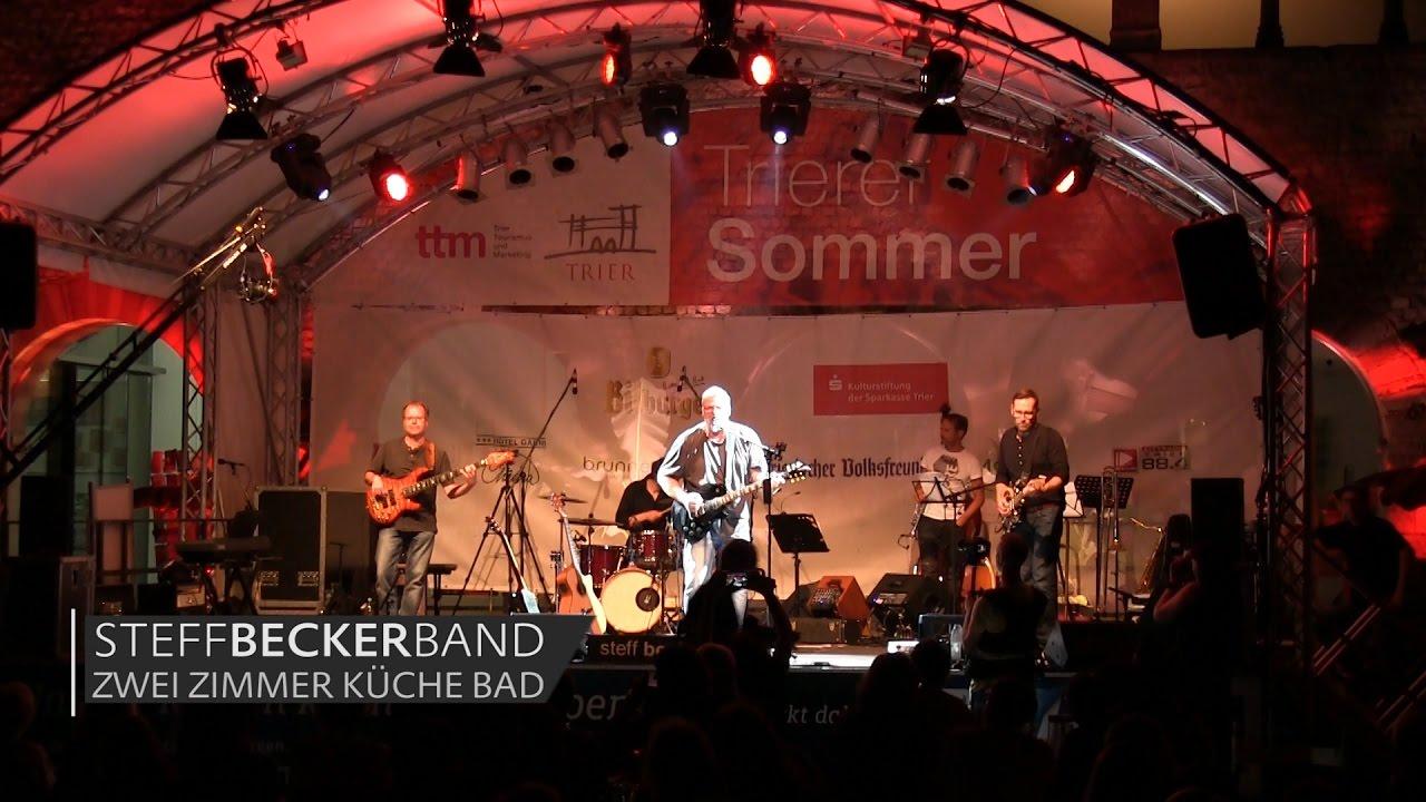 steffBECKERband - Zwei Zimmer Küche Bad - live @ Brunnenhof (14.09 ...
