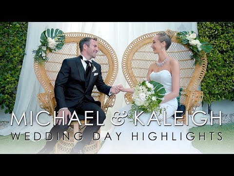 Kaleigh + Michael Wedding Film at The Avalon Hotel in Palm Springs