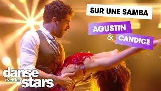 DALS S08 - Sur Despacito, Agustin Galiana et Candice Pascal dansent une Samba