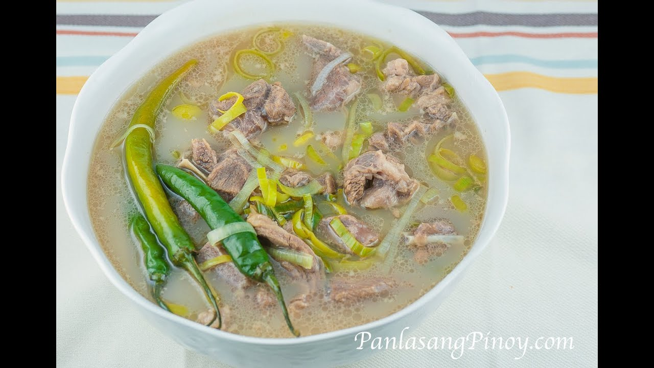 how to cook sinigang na manok