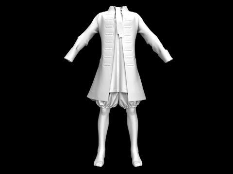 Level 2-8 Medieval Garment Men 1_ 5 Make a jacket