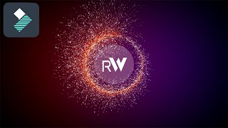 Filmora (Particle Logo Reveal) Tutorial: How To Edit With Filmora