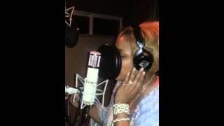 T-Boz - Re-Recording 'Baby Baby Baby' For the TLC Biopic Movie