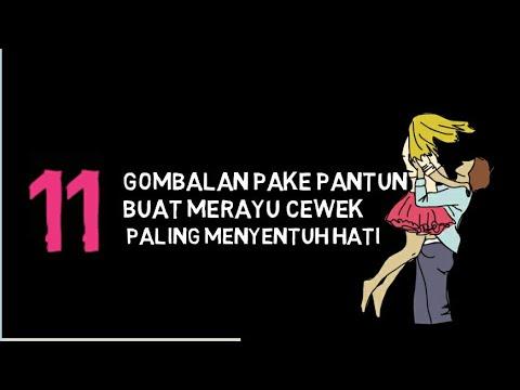 Pantun Gombal Untuk Wanita Gombalan Pake Pantun Buat Merayu Cewek Paling Menyentuh Hati YouTube 1538