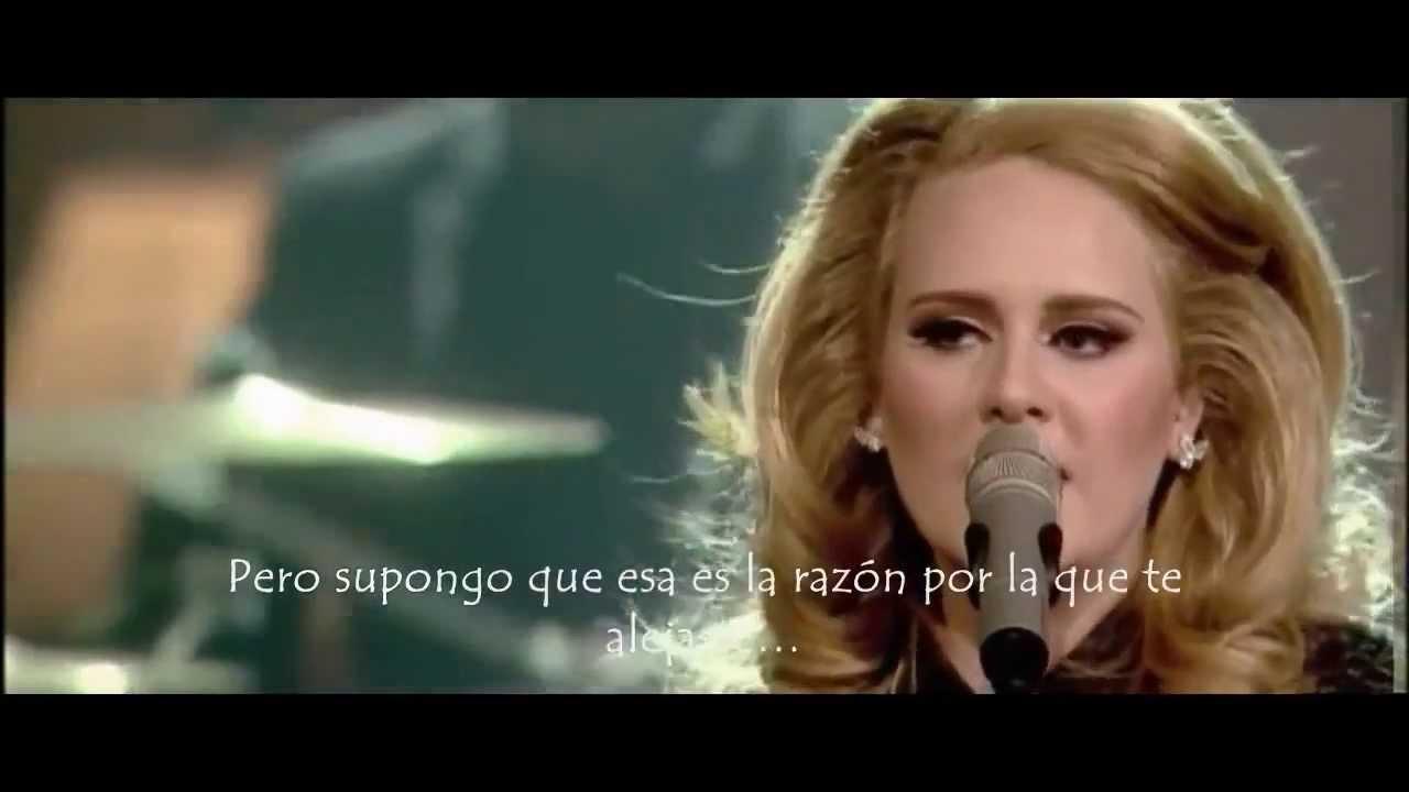 Adele Rumor Has It Live Subtitulada Al Espanol