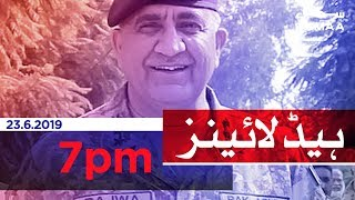 Samaa Headlines - 7PM -23 June 2019