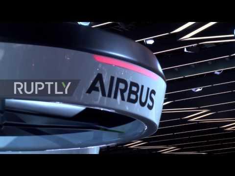 Switzerland: Airbus unveils world's first 'drone-car' at Geneva Motor Show