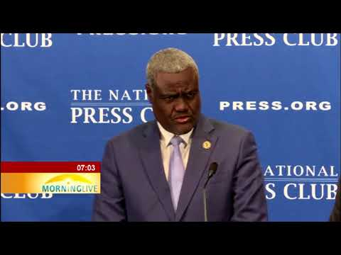 Developments in Zim are being closely monitored: Moussa Faki Mahamat
