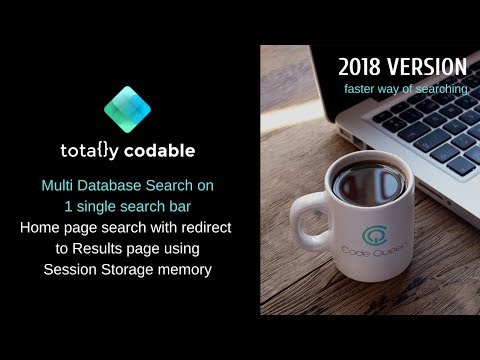Easy Search Code for Wix Code - 2018 -  Display Results on another page
