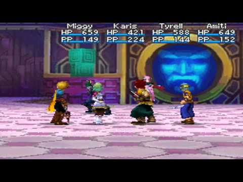 Golden Sun: Dark Dawn - Blados & Chalis