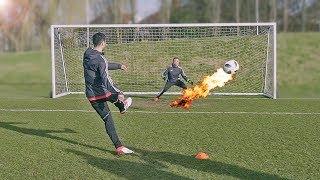 Mkhitaryan (FC Arsenal) vs freekickerz - Penalty Football Challenge