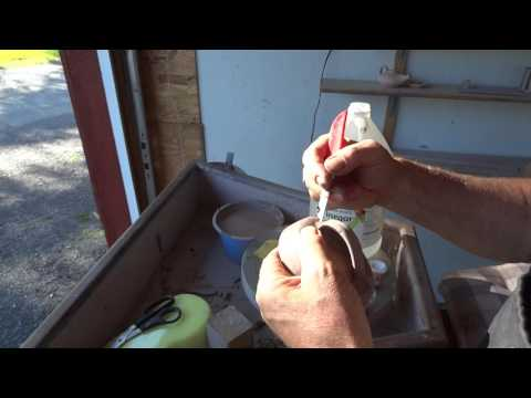 SIMON LEACH POTTERY TV - How I Mend Cracks In Drying Pots !