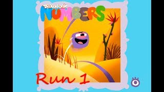 New Run and jump - Level 1 - DragonBox: Numbers - Run. The speed of the rocket.