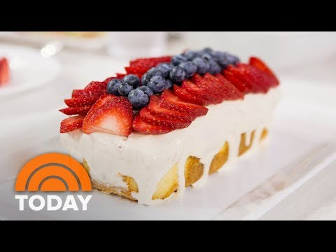 Sunny Anderson's Fourth Of July Recipes: Poke Cake, BBQ Chicken, Veggie Slaw | TODAY