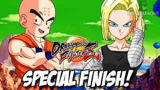 Android 18 And Krillin Special Super! - Dragon Ball FighterZ: Android 18, Krillin & Kid Buu Gameplay
