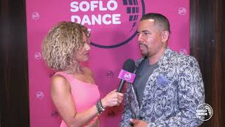 Interview of David Herrera by Meli of SoFlo TV @ annual Bachateando festival in Miami 4-5-19