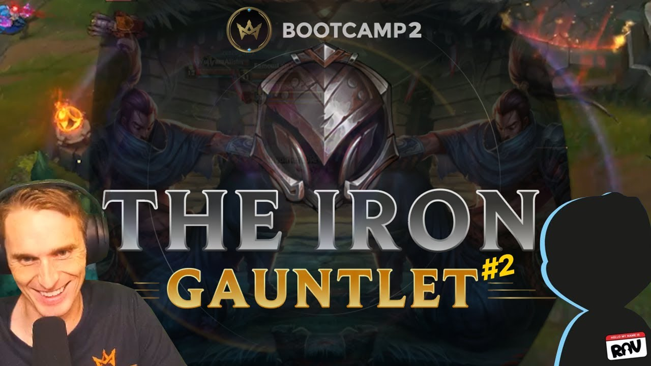 Me and Rav spectate 5v5 iron noobs.. I BET RP ON RED - IRON GAUNTLET 2