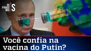 Rússia promete vacina contra o coronavírus