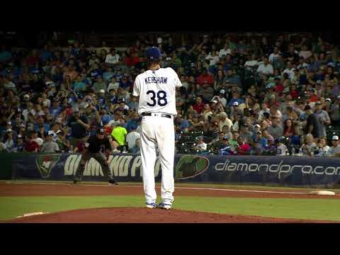 Clayton Kershaw highlights from rehab start with Triple-A Oklahoma City Dodgers
