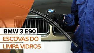 Mudar Escovas de para brisa dianteiro e traseiro BMW 3 (E90) - vídeos tutoriais