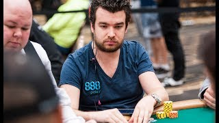 888 Ambassador Chris Moorman in Day 2 of Colossus