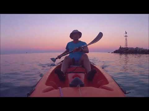 Kayaking Trip  -  Chalkidiki Greece (Bic Kayak BORNEO Solo).