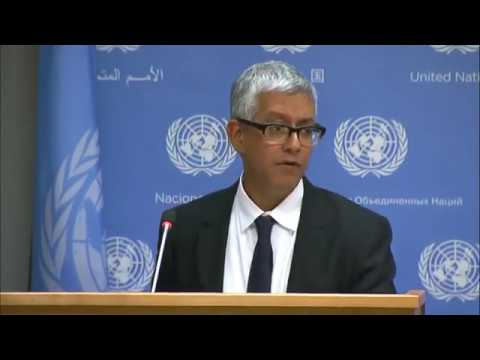 UNICEF, WFP & WHO wrapped up joint mission to Yemen & other topics - Daily Briefing (26 July 2017)