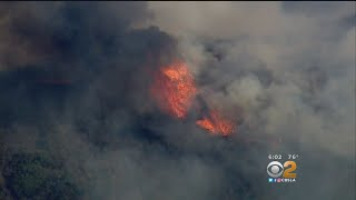 Some Evacuees Of Canyon Fire In Corona Has Been Allowed To Return Home