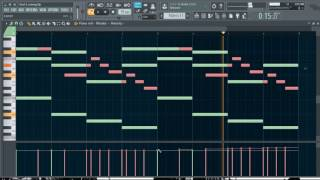 Gambar cover I feel it coming - The Weeknd ft. Daft Punk (FL Studio channel review)