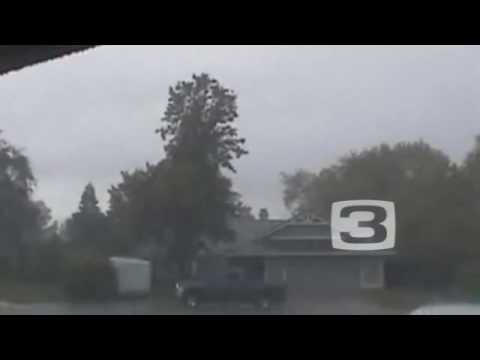 Raw: Rain Hammers Citrus Heights