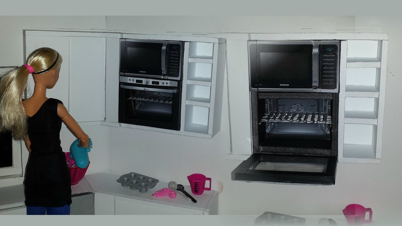 Diy 1 6 Scale Doll Oven And Microwave