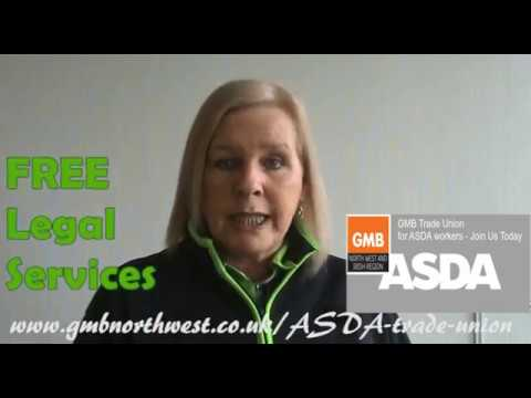 ASDA Trade Union rep Jayne gives a few reasons to Join GMB