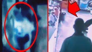 8 Unexplained SECURITY GUARD PARANORMAL Events Caught On CCTV!