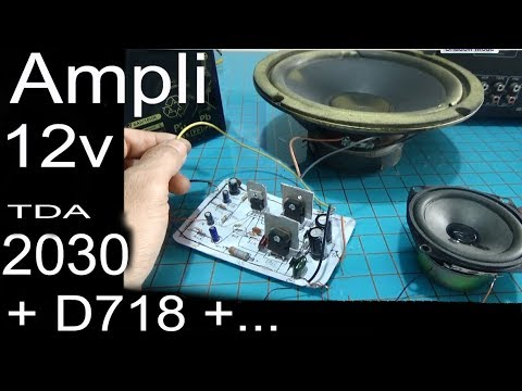 12v audio amplifier circuit, simple diagram using transistors D718 on car radio, car audio, car starter, car upholstery, car roof racks, car detailing, car stereos, car inspection, car bed, car speakers, car decals, car tweeters, car paint, car interior, car equalizers, car subwoofers, car accessories, car alarms, car subs, car battery,