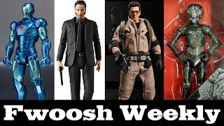 Weekly! MAFEX John Wick and RoboCop 2, Marvel Legends and Star Wars, Mezco Ghostbusters, and more!