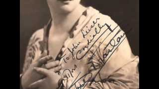 American Contralto Sophie Braslau:  La Girometta (1921) ~  Villanella (1917)