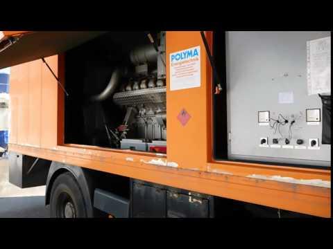 Gebr. Polyma 500 kVA Netzersatanlage Notstromgenerator zu verkaufen Bargen Nutzfahrzeuge