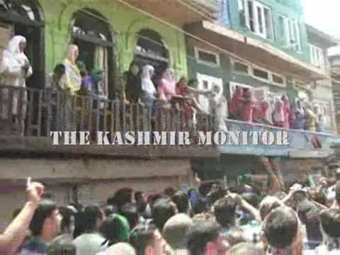 Amid protests, people carrying body of Chattabal youth