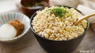 鶏のうまみ凝縮! パラパラ くずし 豆腐の 塩 そぼろ 丼 のレシピ 作り方