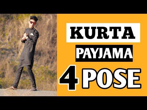 4 Pose With Kurta Payjama Easy Pose Black Kurta Pajama For Men Best Pose In Kurta Pajama 2020 Youtube