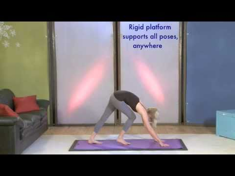 Lifeboard Portable Yoga Floor Youtube