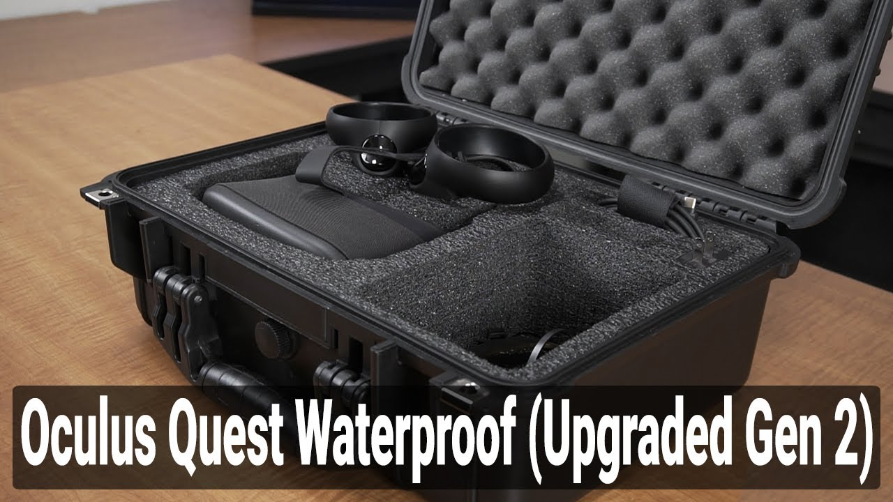 Oculus Quest Waterproof Case - Video