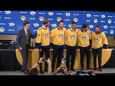 Nashville Predators announce 17/18 leadership group