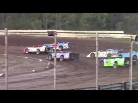 Hummingbird Speedway (8-31-19): Swanson Heavy Duty Truck Repair Semi-Late Model Heat Race #2