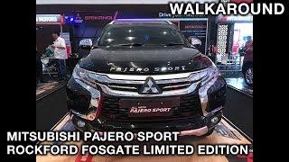 Mitsubishi Pajero Sport Rockford Fosgate Limited Edition 2018 - Exterior & Interior Walkaround