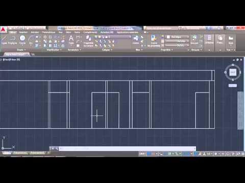 Comment dessiner une coupe sur autocad youtube - Comment faire une coupe architecture ...