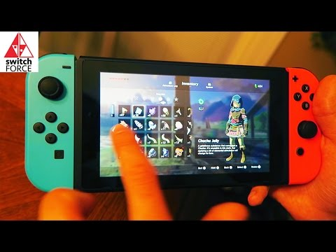 NINTENDO SWITCH TOUCHSCREEN TOUR - How to Use It and What It