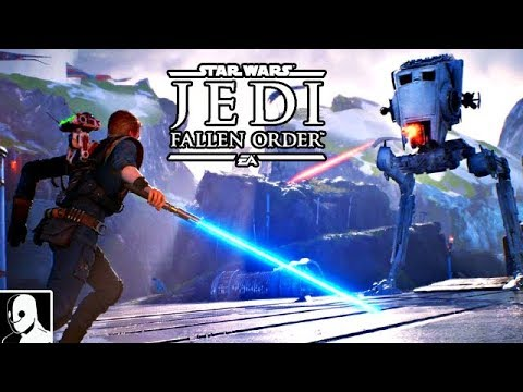 Star Wars Jedi Fallen Order Gameplay German #12 - AT-ST Boss Fight & AT-AT Chaos(Let's Play Deutsch) from YouTube · Duration:  20 minutes 46 seconds